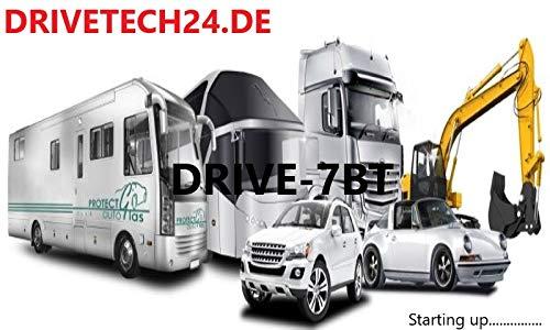 Navigatieapparaat navigatiesysteem DRIVE-7BT voor vrachtwagen, personenauto's, campers. 50 Europese landen. HQ TMC radio-ontvanger, tekst-to-speech, Bluetooth. AVI-IN