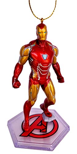 Iron Man from Movie Endgame Figurine Holiday Christmas Tree Ornament - Limited Availability - New for 2019