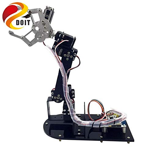 Mechanische Arm Metalen Structuur Houder Kits,Hoge Torque Servos*5 Stks voor Robot Teaching Platform