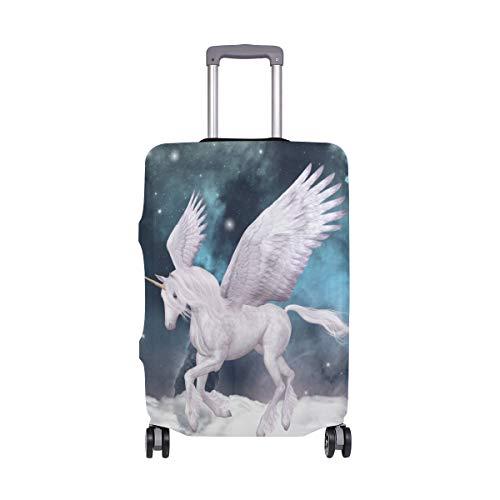 AJINGA Magic Unicorn Sky - Funda Protectora para Maleta de Viaje (Talla S, 45,7 a 50,8 cm)