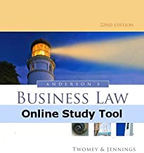 CourseMate (with Business Law Digital Video Library) for Anderson's Business Law and the Legal Environment, Standard Volume, 22nd Edition