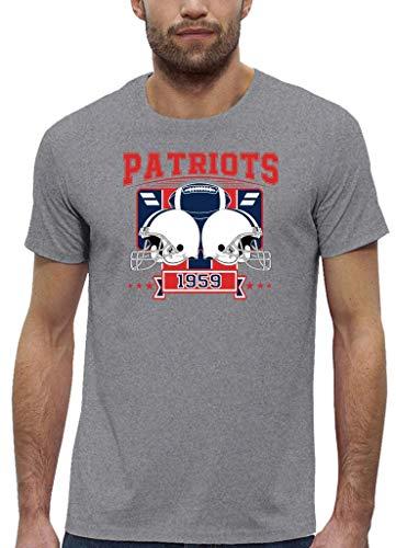Preisvergleich Produktbild Patriots 1959 New England Pats Football An Jedem Verdammten Sonntag Super Bowl Premium Bio-Shirt Herren Shirt,  Größe:M
