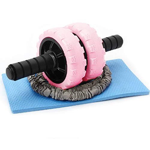 Fantastic Prices! NSY Pink Abdominal Wheel Abdominal Muscle Wheel Abdomen Reduction Belly Fitness Eq...