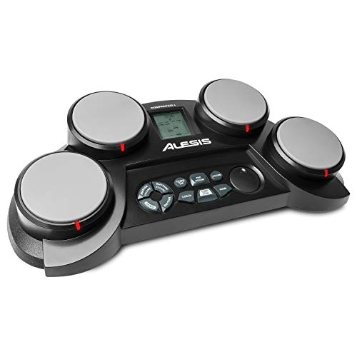 Alesis CompactKit 4 – Tabletop Electric Drum Set with 70 Electronic /...