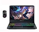 """Acer Predator Helios 300 15.6"""" FHD Gaming Laptop, GeForce GTX 1660 Ti, Intel Core i7-9750H (up to 4.50 GHz,Beat i7-8700), 16GB DDR4, 512GB SSD, HDMI USB-C, Windows 10 w/Ghost Manta Gaming Mouse"""