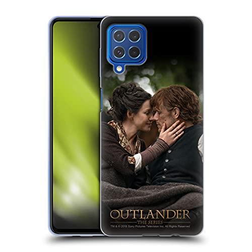 Head Case Designs Licenza Ufficiale Outlander Claire Jamie Bacio Stagione 4 Arte Cover in Morbido Gel Compatibile con Samsung Galaxy M62 (2021)