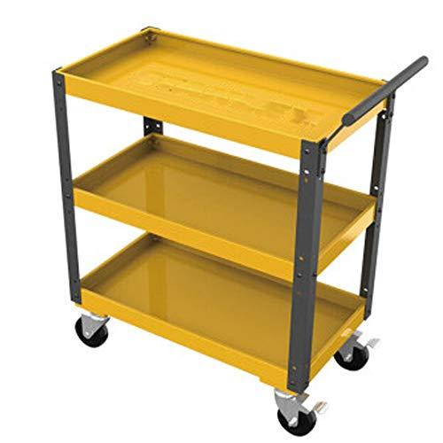 HO-TBO Tool Cart, drie-tier Tool Cart Tin Kast Tool Met Lade Multifunctionele Auto Reparatie Tool Trolley Werkbank Werkstation Tool Box