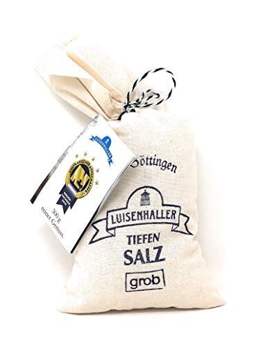 Luisenhaller® Tiefensalz Grob im Leinensäckchen 300g