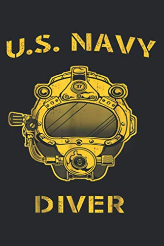 U S Navy Diver Back Only: Daily Planner Journal Notebook: To Do List, Appointments, Daily Organizer (6 x 9 inch)
