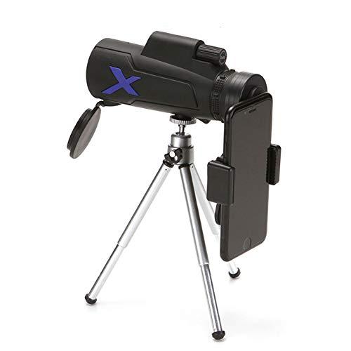 QWQ Télescope, Monoculaire 12X50 Jumelles Puissant De Haute Qualité Zoom Grand Télescope Handheld Night Vision HD Chasse Professionnelle,B