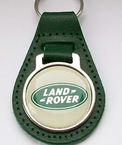Unbekannt Land Rover Schlüsselanhänger Leder Acryl Grün