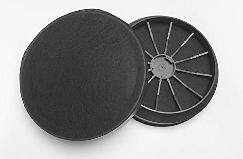 Aktivkohlefilter für Dunstabzugshauben - passend für Blaupunkt 5Z5138X5, Junker JZ5138X5 und Viva VVZ52V60-1 Paar