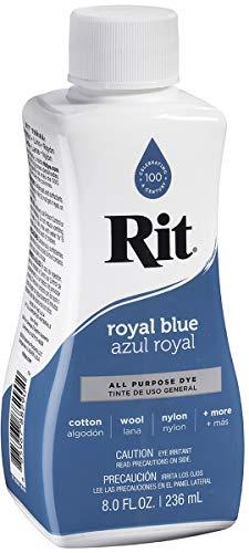 Rit Purpose Liquid Dye, 8 Oz, Royal Blue