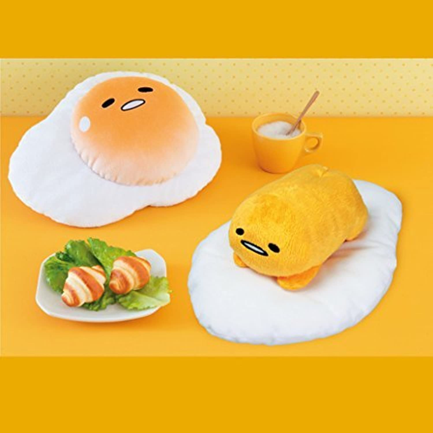 vendiendo bien en todo el mundo BIG stuffed all two set you want has been been been Gudetama Gudegude  Envío 100% gratuito