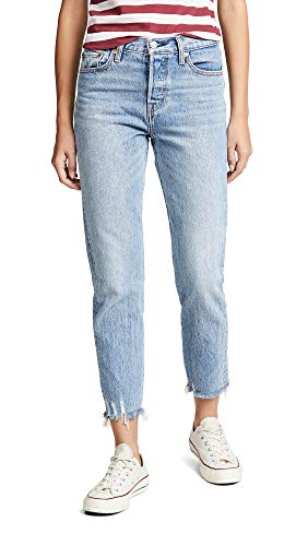 Levi's Women's Wedgie Icon Jeans, Shut Up, Blue, 24