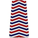 MaMacool Yoga Mat Blue Red White Wave Pattern...