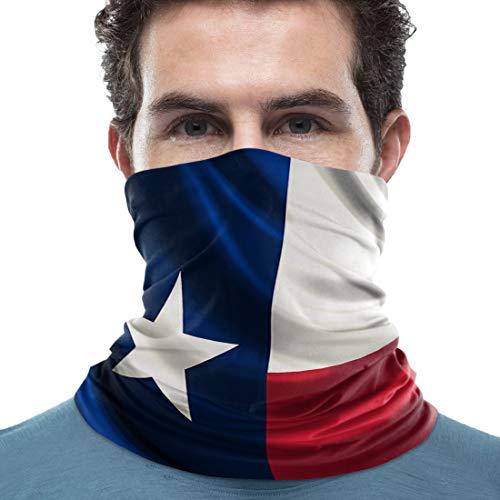 Neck Scarf Bandana Women Men Cooling Neck Gaiter Balaclavas - Texas Flag American Story Lightweight Fishing Outdoor Apparel Shield Scarfs