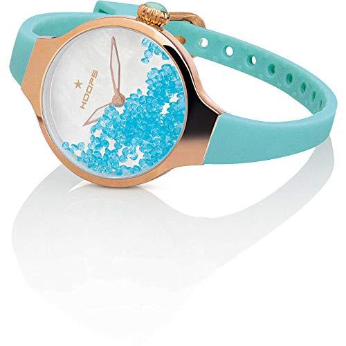 HOOPS Uhren Cherie Rolling Stones Gold Damen Tiffany - 2611L-RG05