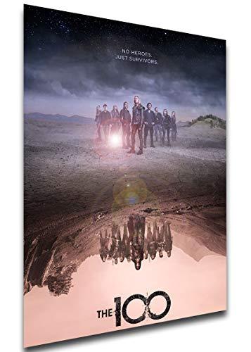 Instabuy Poster - Playbill - TV Series - The 100 Variant 06 Manifesto 70x50