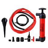 OSHACO Siphon Pump - Transfer Pump Kit Extractor - Manual Plastic Sucker Pump for Oil Water Gas