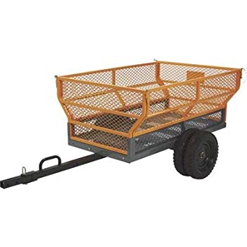 Bannon Utility Trailer - 1,400-Lb Capacity 24 Cu Ft.