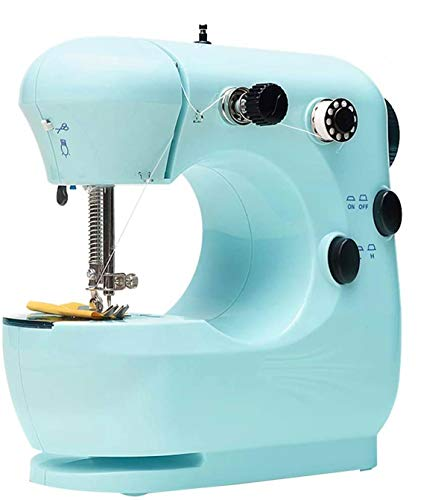 Project Runway 301 Small Household Sewing Machine, Two-Thread Two-Speed Multi-Function Mini Sewing Machine