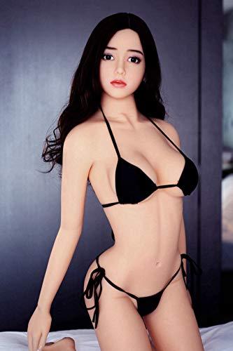 165 cm/5,41 ft lebensechte Größe Ganzkörper, echtes 3D-realistisches Silikon, wasserdicht, TPE, fester Körper, Adûllt Love Mästürbatšr für Männer FTGR023