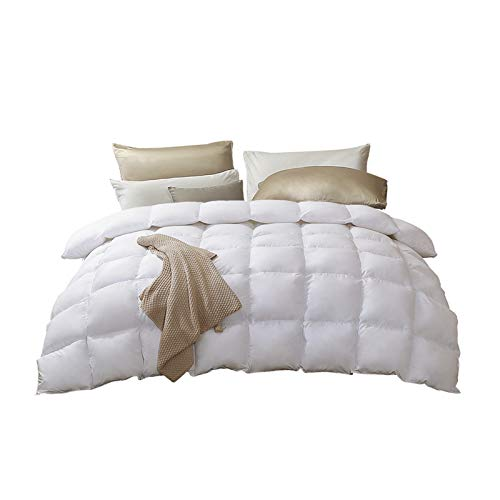 Bedding Duvet, White Goose Down Quilt Warm In Winter Single Double Light Comfortable Warm Fluffy And Soft, Giving Family A Cloud-like Peace Of Sleep