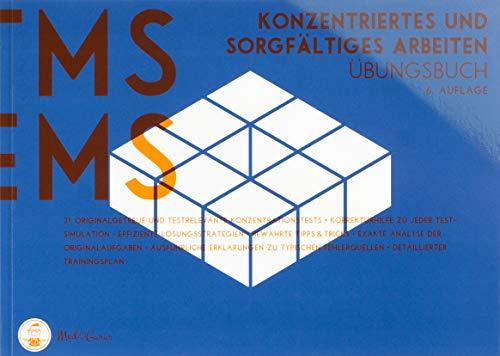 Medizinertest TMS / EMS 2020 I Konzentriertes und sorgfältiges Arbeiten I Übungsbuch für den Aufnahmetest in Deutschland und der Schweiz I Vorbereitung auf den Test für medizinische Studiengänge