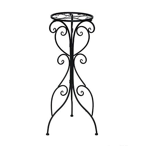 HTZ Multifonctionnel Support De Fleurs | Support De Fleur Européen En Fer Européen À Une Couche | Balcon Intérieur Salon Cadre En Bonsaï De Radis Vert ++ (taille : B)