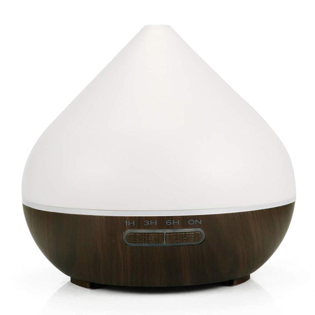 暫定軽減口頭超音波アロマセラピー香りの良い加湿器、300mlアロマセラピーエッセンシャルオイルディフューザー、寝室用の7つのLEDライトカラー、ホーム、オフィス,darkbase