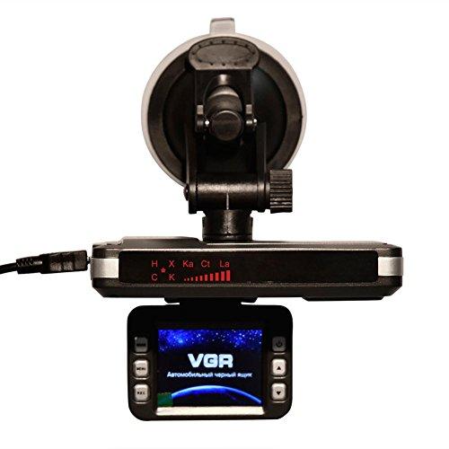 2-in-1-720P Auto DVR Speed Messung Radar, DVR Digital Video Recorder, All-in-One-Auto Laser Detector, G-Sensor Einparkhilfe Monitor Bewegungserkennung