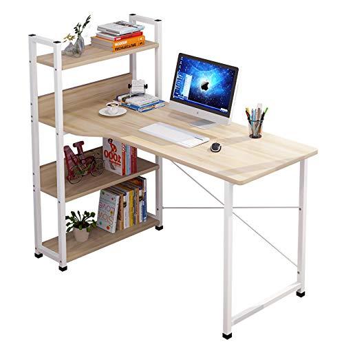 AIYIFU Mesa, Escritorio de Oficina, Escritorio Multifuncional para Oficina en Casa, Escritorio con Mesa de Estudio Resistente en X, Multipropósito para Estación de Trabajo de Oficina en Casa,