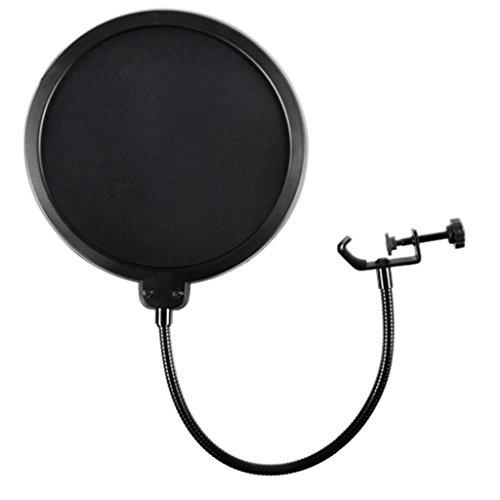 SDENSHI Mikrofon Windschutz Filter/Schwenkhalterung/Maske Shied For Speaking