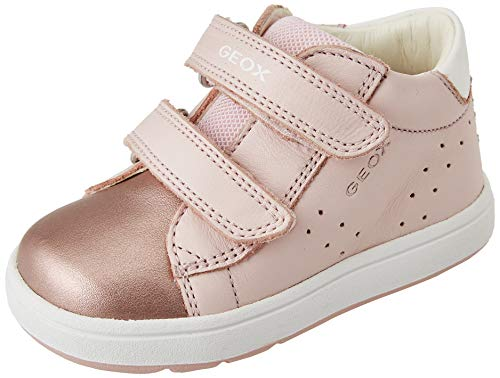 Geox Baby-Mädchen B BIGLIA Girl C First Walker Shoe, LT Rose/White, 21 EU