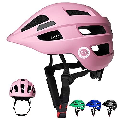 XJD Fahrradhelm Kinder Kinderhelm für Laufrad Fahrrad Roller Skateboard Helm für Baby Kleinkind 2-7 Alt(Pink, XS)