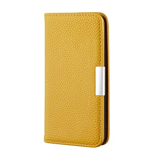 AChris Cover for Samsung Galaxy A32 (4g) Anti-Scratch Leather Flip Case with Card Slots Kickstand Magnetic Buckle Business Style Protective Wallet Case for Samsung Galaxy A32 (4g), Yellow