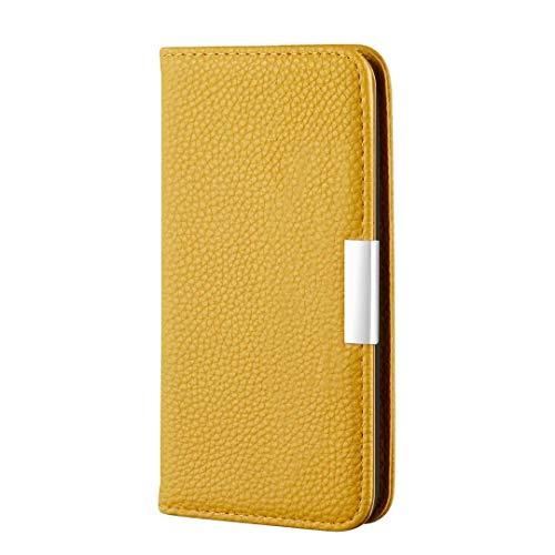 Funda para iPhone SE 2020, a prueba de golpes, de piel sintética, suave, antigolpes, con función atril, tarjetero, ranura para tarjetas de identificación, delgada, tapa protectora para iPhone SE 2020