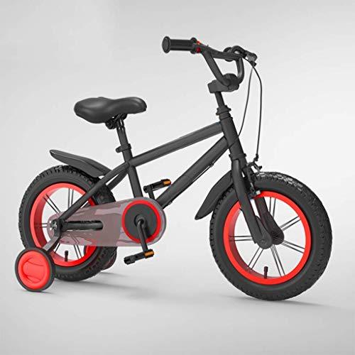 KELITINAus 14 16 18 Pulgadas Kids Bike para Edades de 3 a 8 Años Niños Niños Niños Bicicletas con Ruedas de Entrenamiento, Bebé Niño Niño Balance Bike Bikes de Montaña, M de Acero de Alto Carbono, co