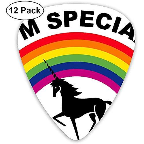 Ich bin ein spezieller Regenbogen-Einhorn-Gitarren-Plektrum-Plektrum-Plektrum-Plektrum-Plektrum-Plektrum-Plektrum-Plektrum-Plektrum-Plektrum.