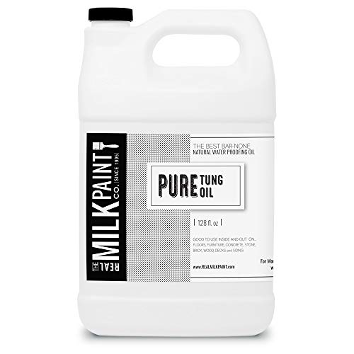 Real Milk Paint, Pure Tung Oil, Gallon