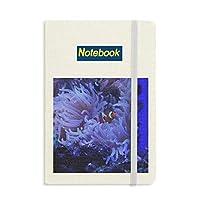 オーシャン・アネモネ魚珊瑚科学は自然の写真 ノートブッククラシックジャーナル日記A 5