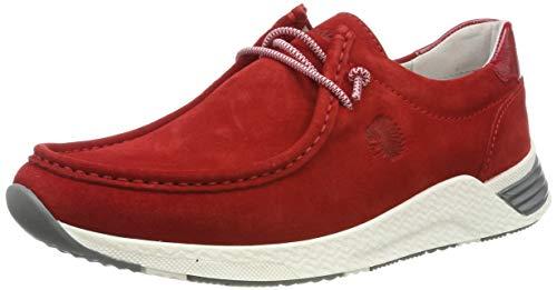 Sioux Damen Grash-d191-57 Sneaker, Rot (Fire 005), 37 EU (4 UK)