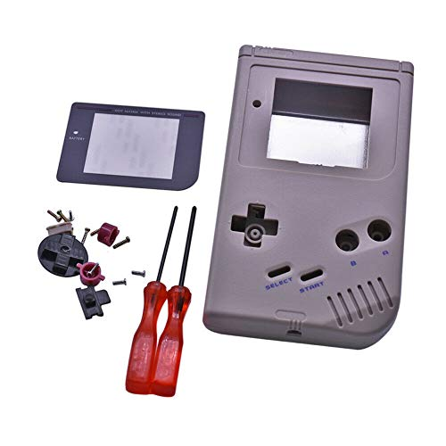 Preisvergleich Produktbild Henghx Ersatz Voll Gehäuse Shell Cover Hülle Teile Set w / Objektiv&Schraubendreher für Nintendo Gameboy GB Console