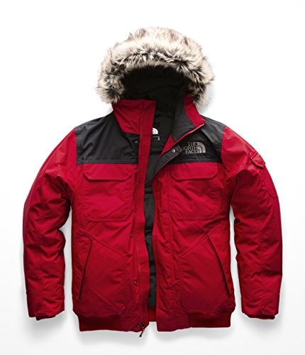 The North Face Men's Gotham Jacket III, TNF Red & TNF Black, Medium