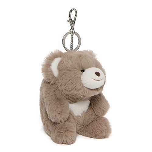 GUND Snuffles Teddy Bear Stuffed Animal Plush Keychain, Taupe, 5'