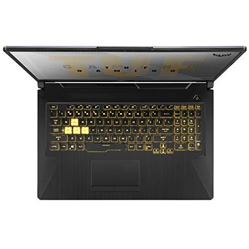 "ASUS TUF Gaming A17 Gaming Laptop, 17.3"" 120Hz Full HD IPS-Type, AMD Ryzen 7 4800H, GeForce GTX 1650, 16GB DDR4, 512GB PCIe SSD + 1TB HDD, Gigabit Wi-Fi 5, Windows 10 Home, TUF706IH-ES75"