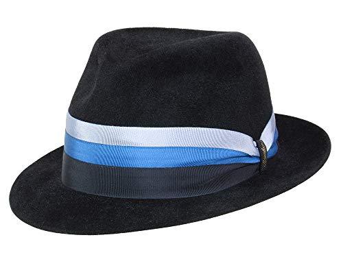 Borsalino Chapeau Fedora N° Art. 160167 Homme - Noir