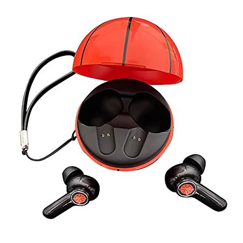 Freljorder Creative Basketball Wireless Bluetooth 5.1 Auriculares Deportivos True Wireless Stereo
