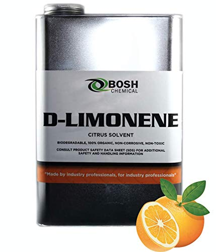 100% D-Limonene Natural Orange Oil | Natural Product Extracted from Orange Peels | 1 Gallon